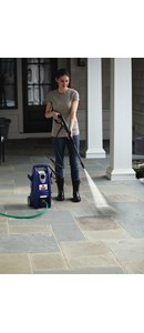BISSELL Rental Outdoor Power Washer removes dirt and grime quickly and easily.
