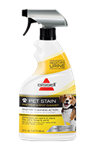 BISSELL Pet Urine Stain and Odor pre-treat and spot cleaner enzymatic cleaner and pet odor neutralizer.