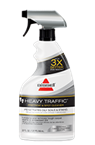 BISSELL Heavy Traffic Spot Cleaner loosens and removes tough carpet stains and embedded dirt.