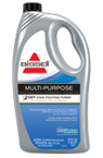 BISSELL Multi-Purpose carpet cleaning formula uses Oxy stain fighting power to remove tough stains.