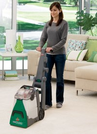 """Renting the BISSELL Big Green Deep Cleaner Carpet Cleaning Machine is easy and affordable."""
