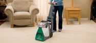 Rent a carpet cleaner from BISSELL Rental and get a deeper clean.