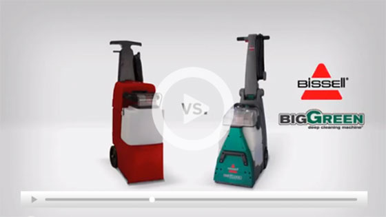 Rug Doctor® vs BISSELL® Big Green® Carpet Cleaning Machine video thumbnail