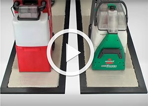 Watch our video to compare the BISSELL Big Green vs. Rug Doctor carpet cleaning machine and see how we stack up against the competition.