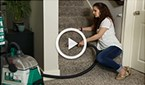Clean more than the floor with the BISSELL Big Green accessories. Watch the video for simple step-by-step instructions for deep cleaning upholstery, furniture, stairs and more.