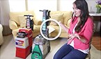 See real people compare the BISSELL Rental Big Green deep cleaning machine vs. the Rug Doctor rental machine!